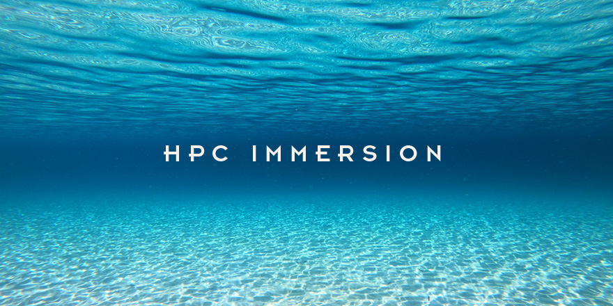 HPC Immersion